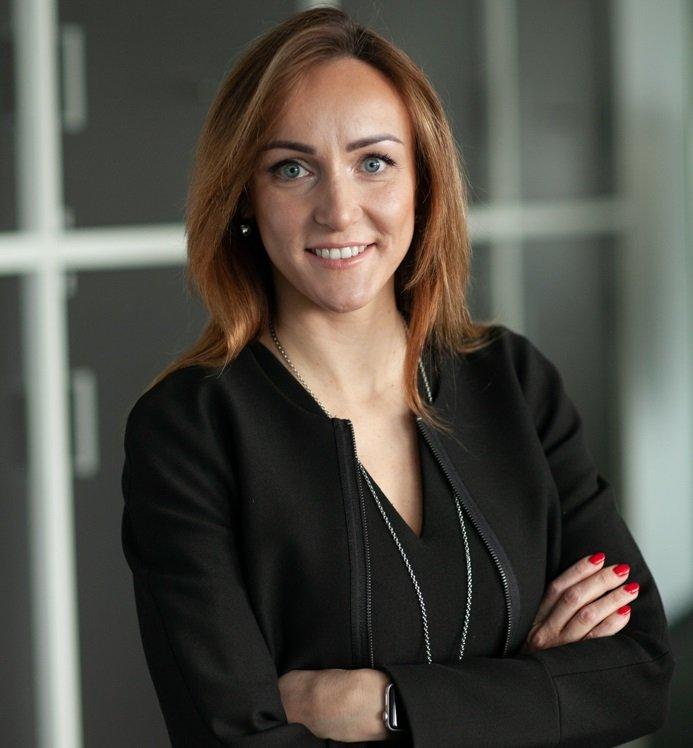 """""""Intrum"""" verslo operacijų ir IT direktorė Baltijos šalims Lina Šiumetė"""