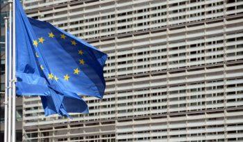 """© """"Reuters"""". Europos Komisijos būstinė Briuselyje"""